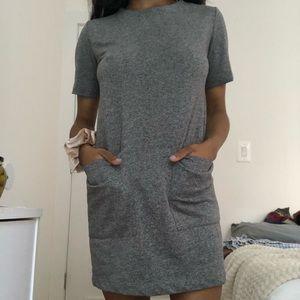 Forever 21 Gray Shift Dress